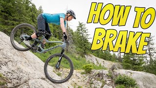 Better Braking In 1 Day - How To Brake On A Mountain Bike