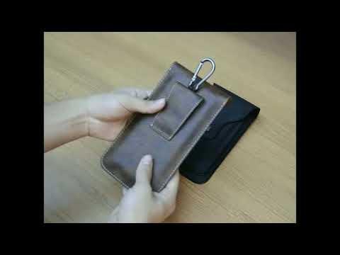 Сумка на пояс чехол для телефона с двумя отделами
