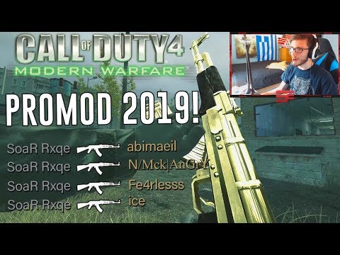COD4 PROMOD In 2019! | Call Of Duty 4 PC Gameplay