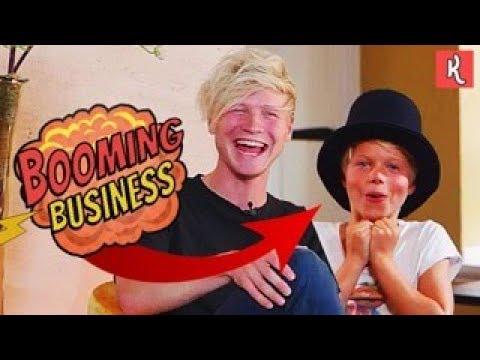 GEEF IK DEZE JONGEN €10.000,-?! | BOOMING BUSINESS #1 | Kalvijn