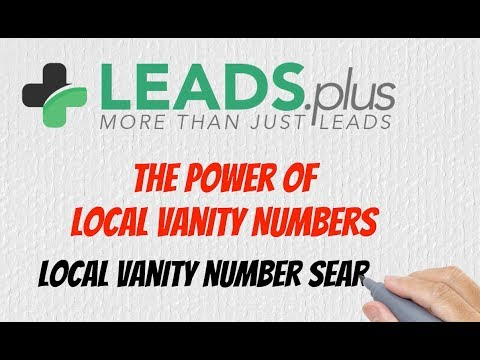 Good Local Vanity Numbers Search Service Call 972.800.6670
