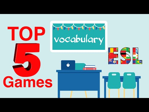 Top 5 Games! How To Teach Vocabulary To Kids & Adults