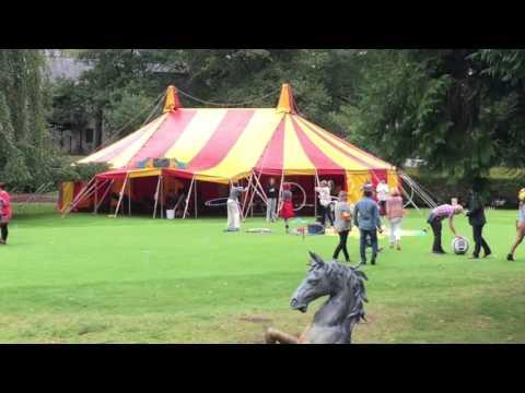 Bigtopmania Corporate Circus Fun day.