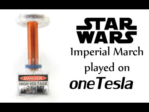 oneTesla - Star Wars Imperial March