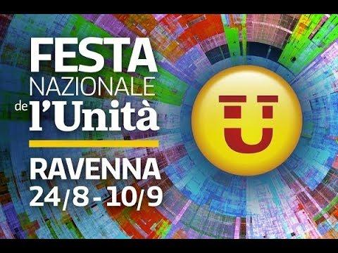 Festa Ravenna 2018 / LECTIO MAGISTRALIS di WALTER VELTRONI