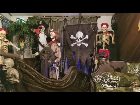 116-in.-pirate-ship-with-animated-steering-wheel-and-60-in.-set-of-2-skeleton-pirates
