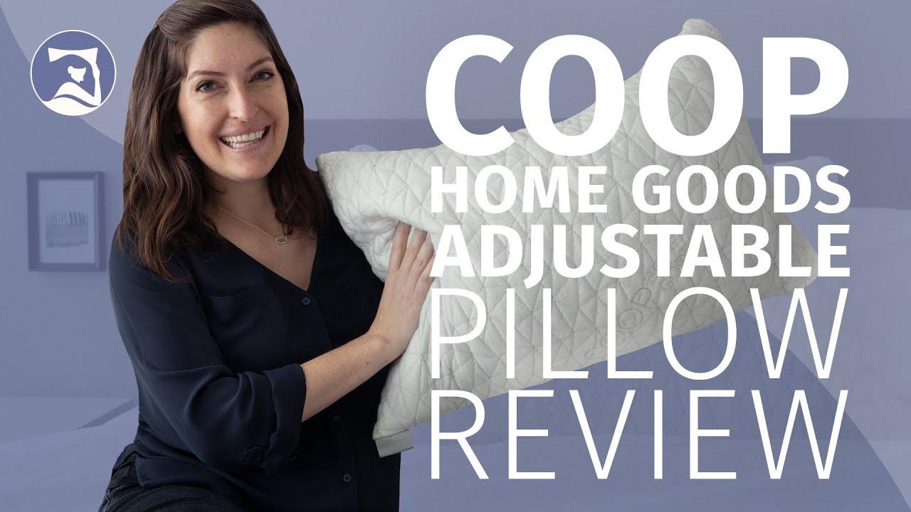 coop home goods original adjustable pillow review