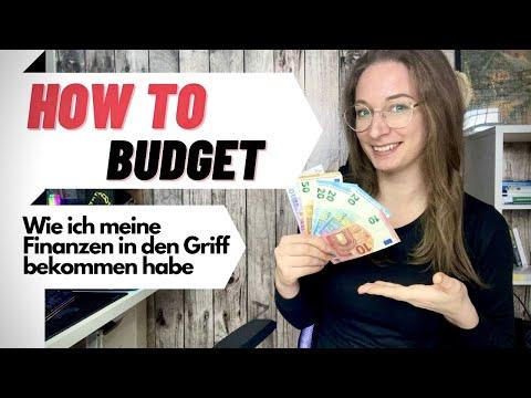 How to Budget; wie ich meine Finanzen in den Griff bekommen habe