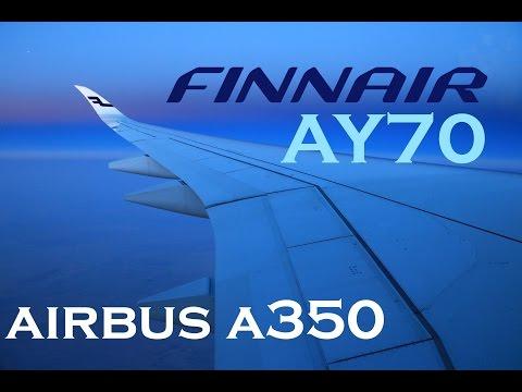 Finnair Airbus A350 XWB Economy Class Review - Hong Kong ✈ Helsinki AY70