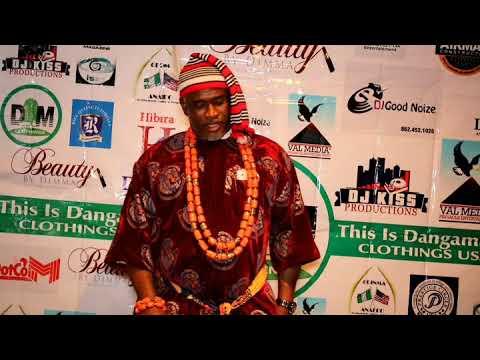 Deputy Mayor City of Newark Ugochukwu Nwaokoro during The Panther Fashion Show Part 1