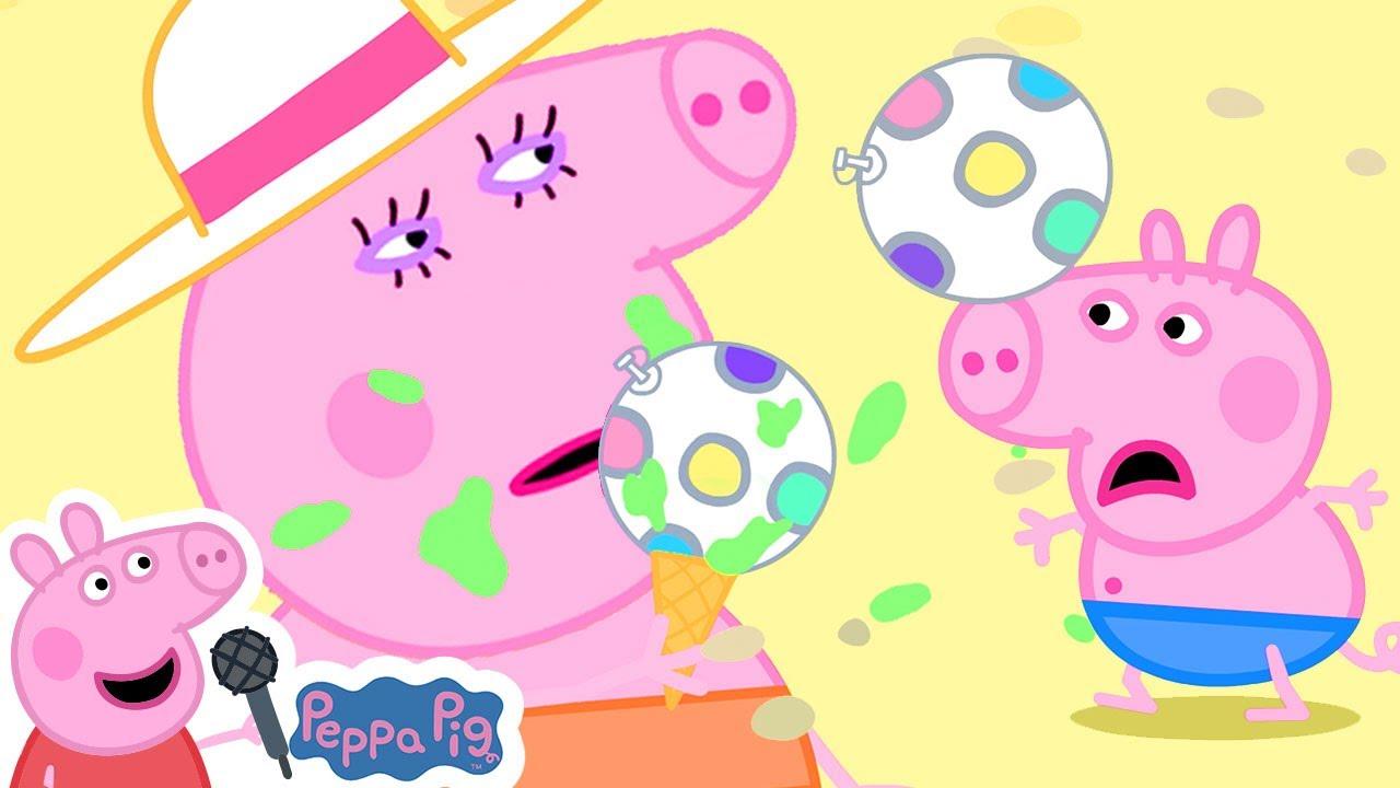 Peppa's Motorhome Summer Holiday Song | Skip To My Lou | More Nursery Rhymes & Kids Songs