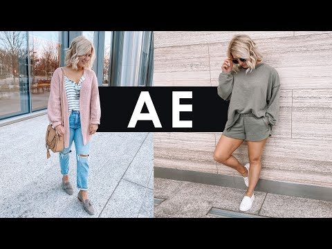 American Eagle Try On Haul | Spring Preview!