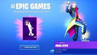 COLLECT THIS FREE EMOTE in Fortnite! (MEGA HYPE)