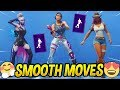 Download *NEW* Fortnite Smooth Moves Emote With Popular Female Skins..!