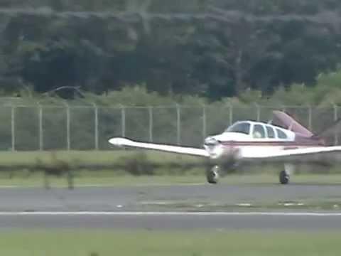 Cessna 177 Cardinal (N11845) & Beechcraft P35 Bonanza (N235E) depart KWWD