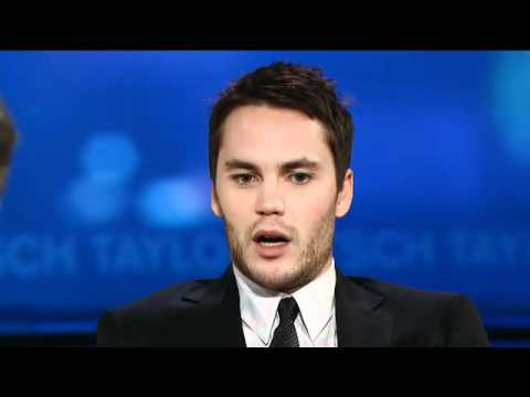 Taylor Kitsch on hockey and being homeless