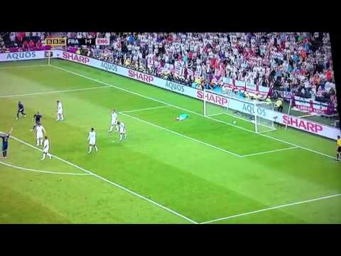 Nasri amazing goal England vs france