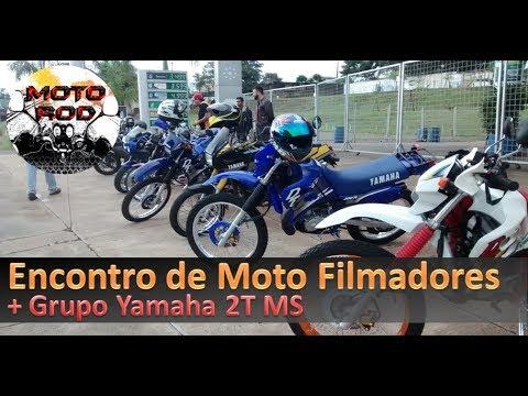 Encontro de Motofilmadores e Yamaha 2T MS - Yamaha Factor 125