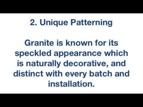 5 Benefits of Granite Tile for Floors & Counters