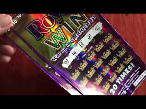 $10 Royal Win - Michigan Lottery 5/20/18