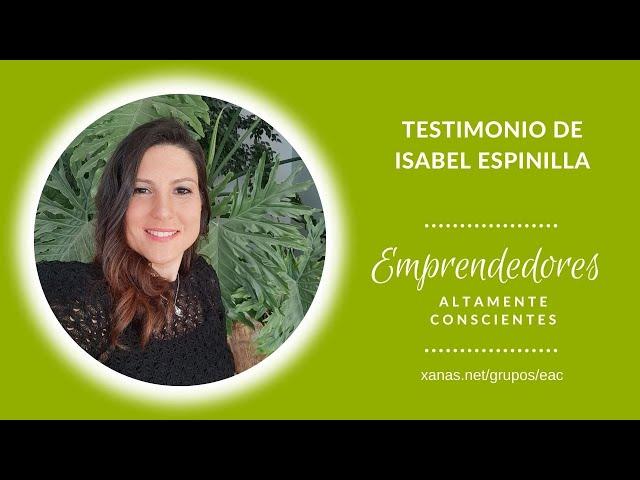 Testimonio de Isabel con su Mapa Energético 28/09/2021