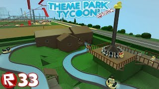 Roblox-episódio 33 | Theme Park Tycoon 2-la SAR-Cabane/FR