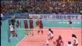 2007ワールドカップ バレーボール女子 日本3-1ペルー (25-18,25-13,2...