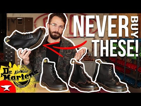 (Top 4) Dr. Martens 1460 Boots - [LEATHER REVIEW] -