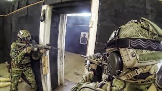 Shoot-House Assault • U.S. Army Special Operators & Polish SOF