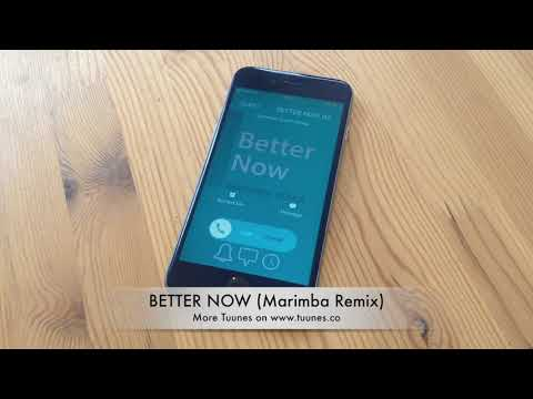 Better Now Ringtone - Post Malone Tribute Marimba Remix Ringtone - iPhone & Android Download