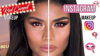#GRWM: Red Carpet VS Instagram Makeup Tutorial with Sofia Tilbury | Charlotte Tilbury
