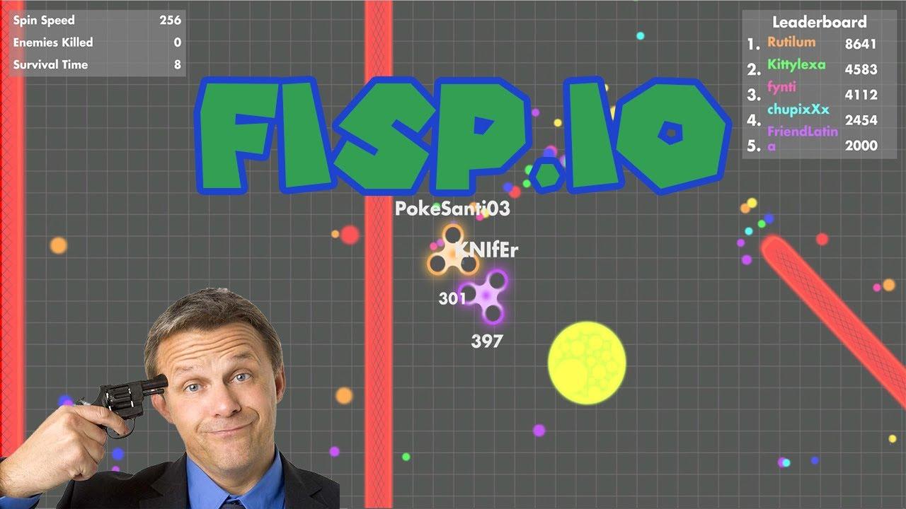El Juego Io De Los Fidget Spinners Fisp Io Youtube
