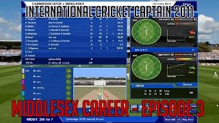 International Cricket Captain 2011 - Episode 3 Update