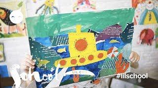 Тема транспорт на уроке Креативное мышление. Жёлтая подводная лодка