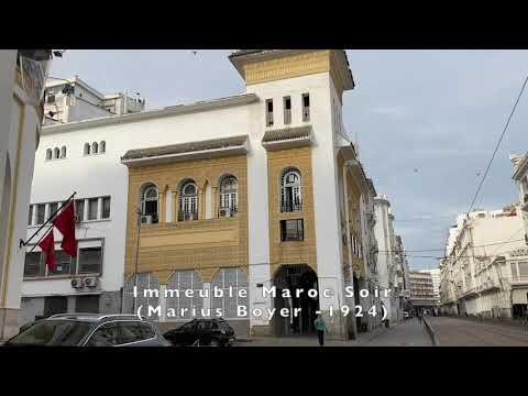 Casablanca, trésor Art Déco