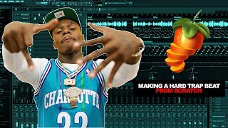 MAKING A SIMPLE BUT HARD TRAP BEAT FROM SCRATCH | E-Trou Cookup