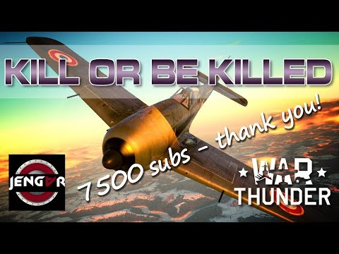 War Thunder Compilation: Kill or be Killed! [7500 Subs Giveaway!!]