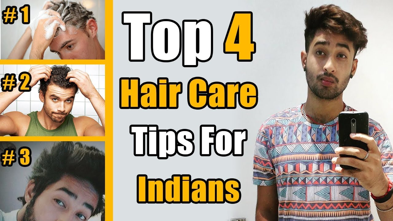 2018 Hair Care Routine For Indian Men Top 4 Hacks Youtube