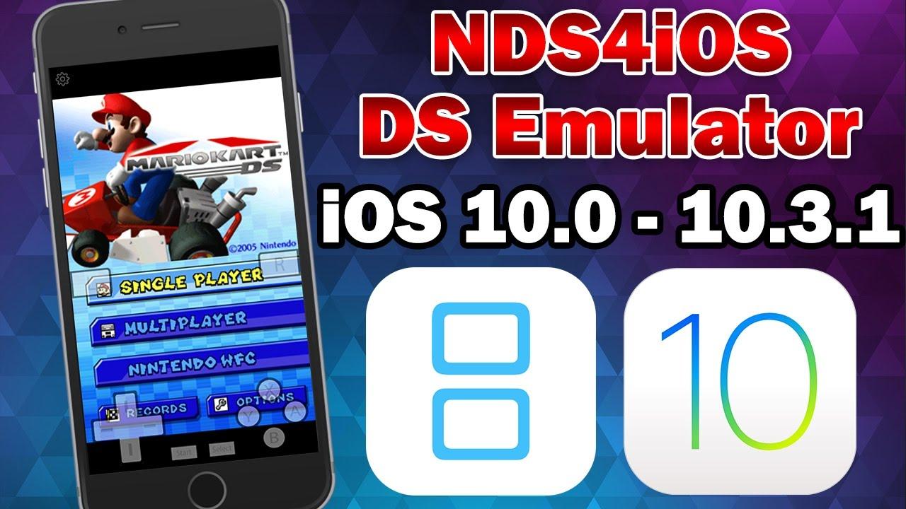 How to Install NDS4iOS Nintendo DS Emulator on iOS 10 0 - 10 3 3 (No  Jailbreak / No Computer)