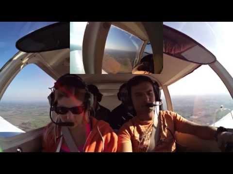 Flying over KC triathlon