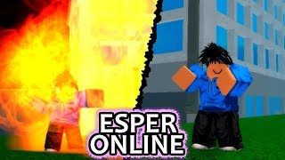 Testing a New Mob Psycho 100 Game on Roblox!   Esper Online   ft. Sagee4