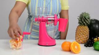 Manual Hand Fruit Juicer