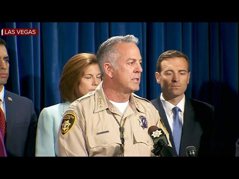 Sheriff gives update on Las Vegas shooting