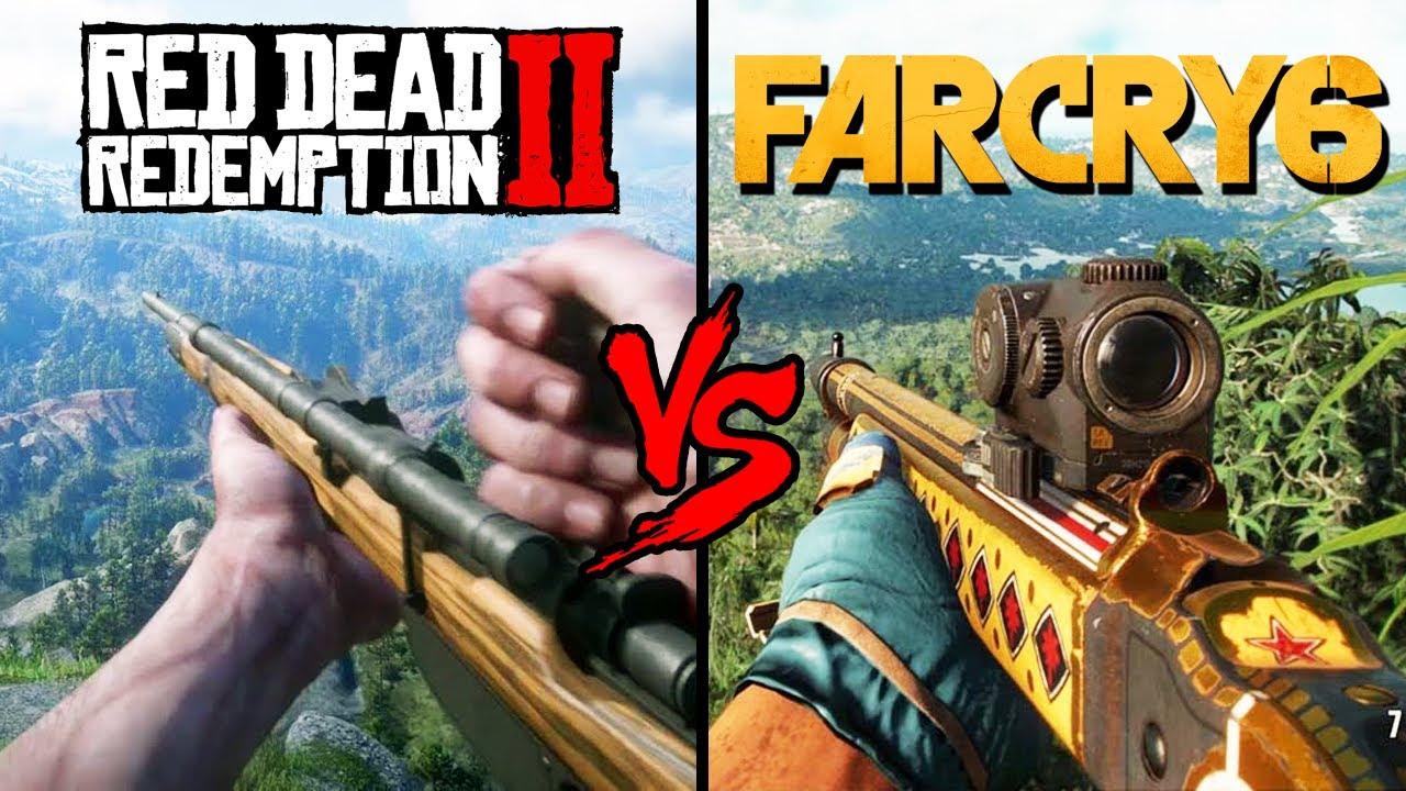 Download RED DEAD REDEMPTION 2 VS FAR CRY 6! QUAL É MAIS DETALHADO?
