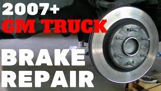 2007-13 GM TRUCK FRONT BRAKE REPAIR   Silverado Tahoe Sierra Suburban Yukon