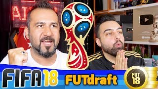 DÜNYA KUPASI MODU ÖZEL KADRO KURMA CHALLENGE! | FIFA 18 FUT DRAFT