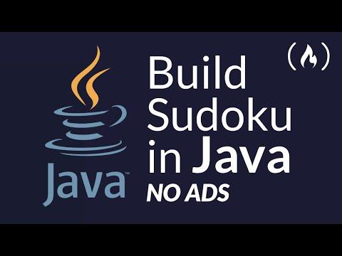 Build a Java Desktop Application - Full Course (Sudoku)