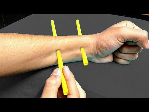 3 New Magic Tricks With Straws Anyone Can Do!