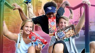 The Cookie Challenge!  (Justin vs Liv ft. MattyBRaps)