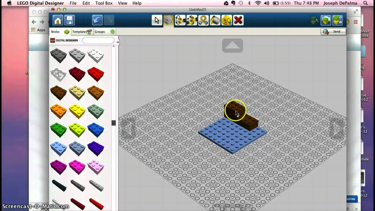 Lego designer templates image collections template for Lego digital designer templates